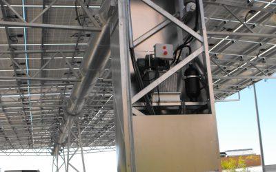 Central Solar fotovoltaica de 75 kW con tecnología Ki Mach /marquesina giratoria/