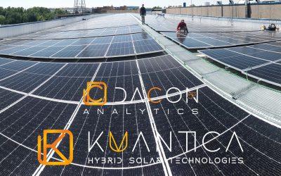 Autoconsumo directo de 300 kwp con sistema de control inteligente DACON 5G en industria de plástico